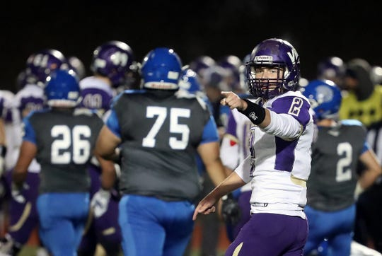 North Kitsap quarterback Colton Bower and the Vikings are coming off a 28-14 victory over Olympic.