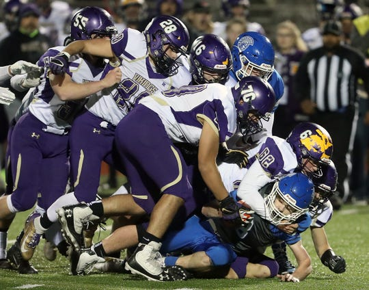 North Kitsap's football team hosts Fife on Friday in a Class 2A West Central District playoff game at 7 p.m.