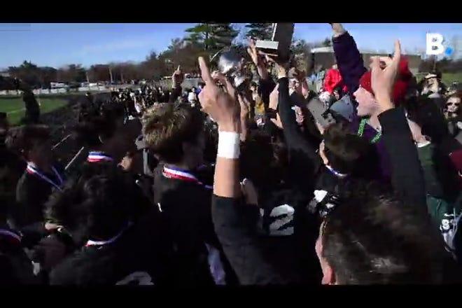 Stowe wins 2-0 shutout to capture the Vermont boys soccer D2 Championship vs. Middlebury at South Burlington High School on Saturday, Nov. 2, 2019.