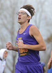 Unioto's Robert Immell finished No. 51 at D-II boys state track with a time of 16:46.1. Unioto High School's cross country team finished second overall at the Division II OHSAA State Cross Country Championships on Nov. 2, 2019 at National Trail Raceway in Hebron, Ohio.