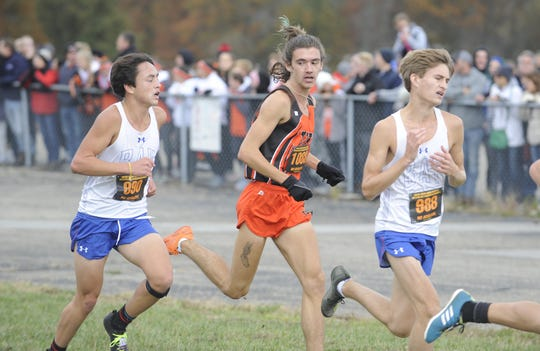 Waverly's Aidan Judd finished No. 56 overall at the D-II boys state meet with a time of 16:48.5. Waverly High School cross country competed as a team at the Division II Boys OHSAA State Cross Country Championships on Nov. 2, 2019 at National Trail Raceway in Hebron, Ohio, finishing 20th.