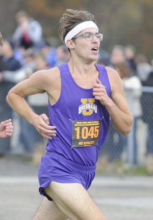 Unioto's Robert Immell signed collegiately with Berea College on Feb. 21, 2020. Immell was part of the history making Unioto cross country team that finished second place at the Division II OHSAA State Cross Country Championships on Nov. 2, 2019 at National Trail Raceway in Hebron, Ohio.