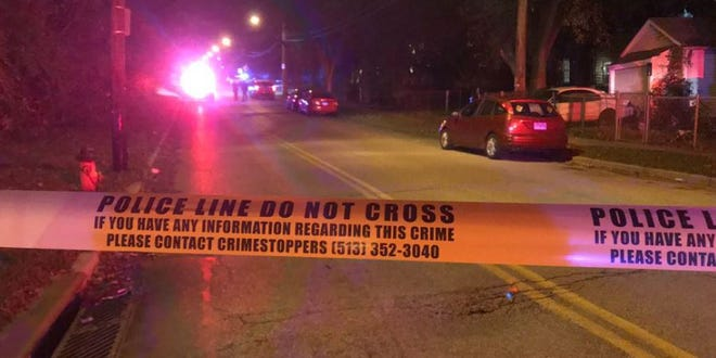 Officers say two people were shot and two were pistol whipped on the 300 Block of Fairbanks Ave.