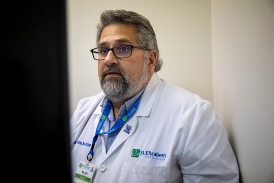 """Dr. Mina """"Mike"""" Kalfas is an addiction specialist with St. Elizabeth Health Care in Northern Kentucky."""