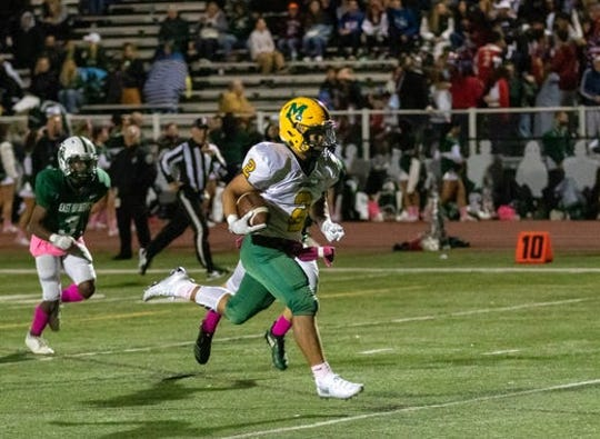 Alex Benitez was one of several Montgomery standouts in Friday's win