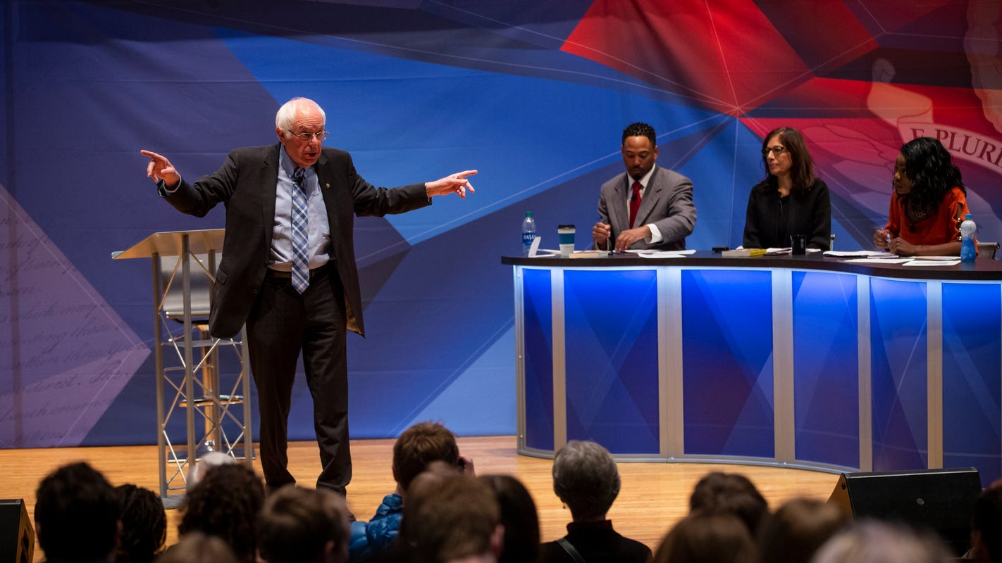 Bernie Sanders aims to be 'the climate candidate' in Iowa caucus - Des Moines Register