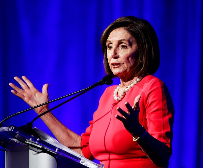 House Speaker Nancy Pelosi expressed hope that a NAFTA replacement could be approved by Congress this year.