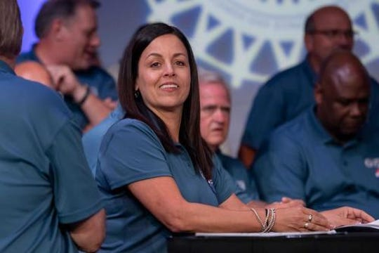 """""""Much progress has been made but we still have some difficult issues to resolve,"""" UAW Vice President Cindy Estrada told local union leaders."""
