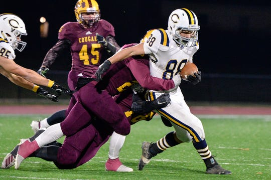 Castle upset Bloomington North on Friday night in the Class 5A sectional.