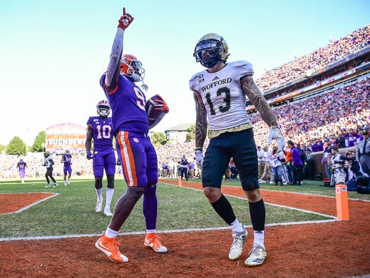 Clemson Vs Wofford Live Updates And Photos From Death Valley