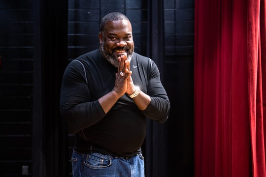Phillip Boykin, who grew up in Greenville where he came of age as an actor at the Phillis Wheatley Community Center, is performing as Tonton Julian in a production of Once on This Island at the Peace Center, November 5-10.
