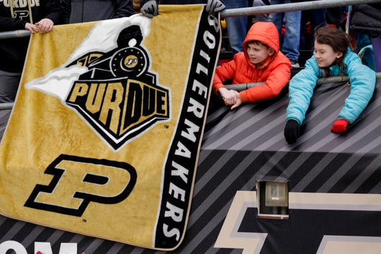 In and around Ross-Ade during the fourth quarter of a NCAA football game, Saturday, Nov. 2, 2019 at Ross-Ade Stadium in West Lafayette.