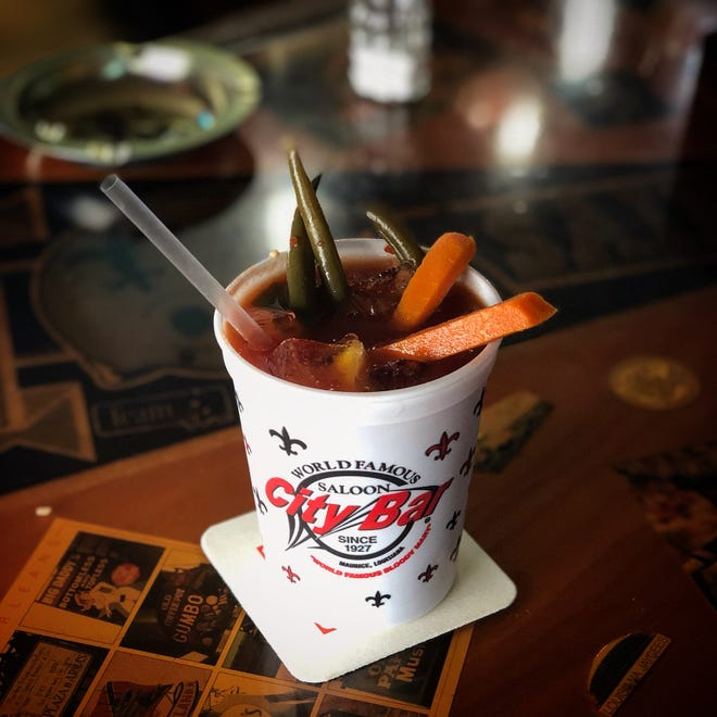 City Bar's Bloody Mary is a local favorite.