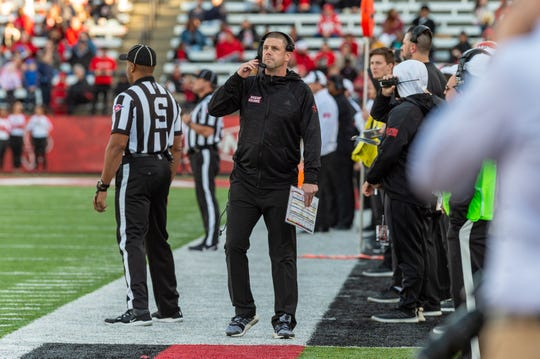 Due to the coronavirus pandemic, it remains to be seen when again UL coach Billy Napier will roam the sideline at Cajun Field.