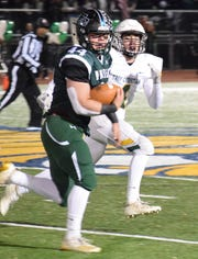 Fisher Catholic senior running back Trey Fabrocini was named Division VII first team All-Ohio by the Ohio Prep Sportswriters Association on Sunday.