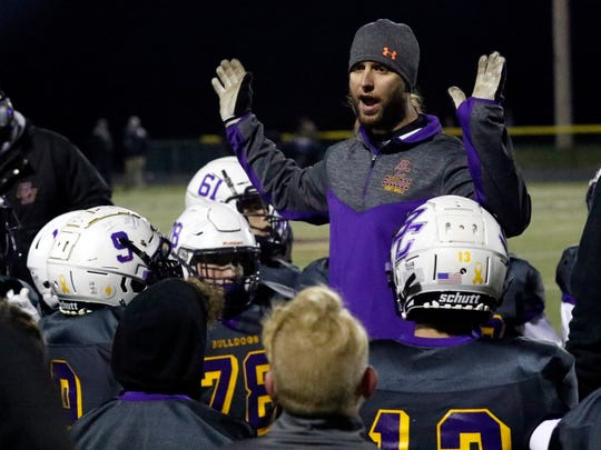Bloom-Carroll's Wade Bartholomew is the 2019 Eagle-Gazette Co-Coach of the Year.