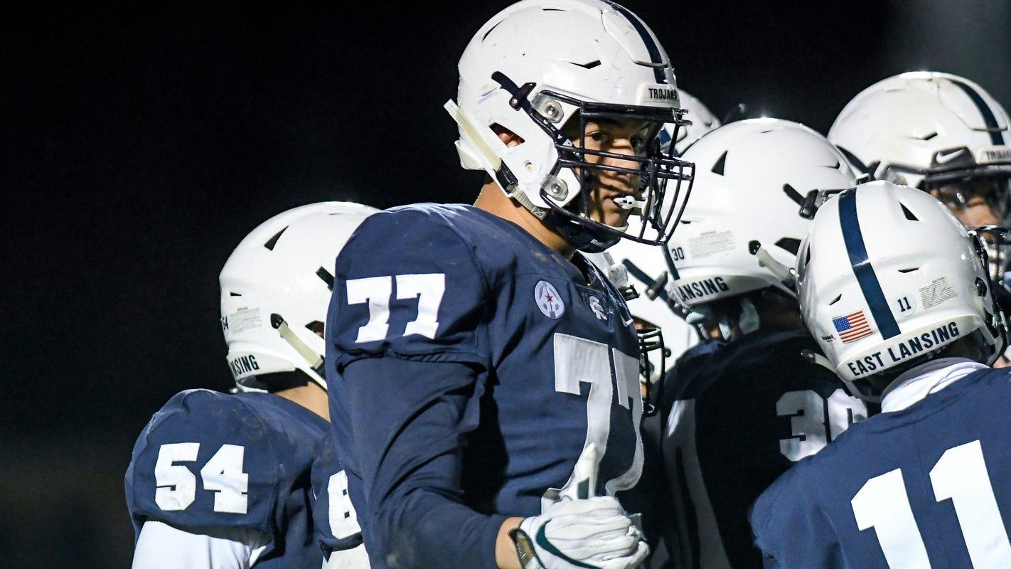 Football Recruiting: East Lansing's Ethan Boyd Seeing