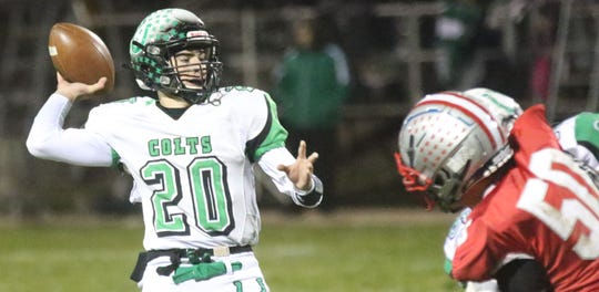 Clear Fork's Brennan South was named first team All-MOAC on offense and defense in 2019.