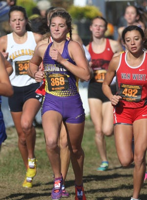 Lexington's Lily Weeks is the No. 3 athlete in the Richland 200.