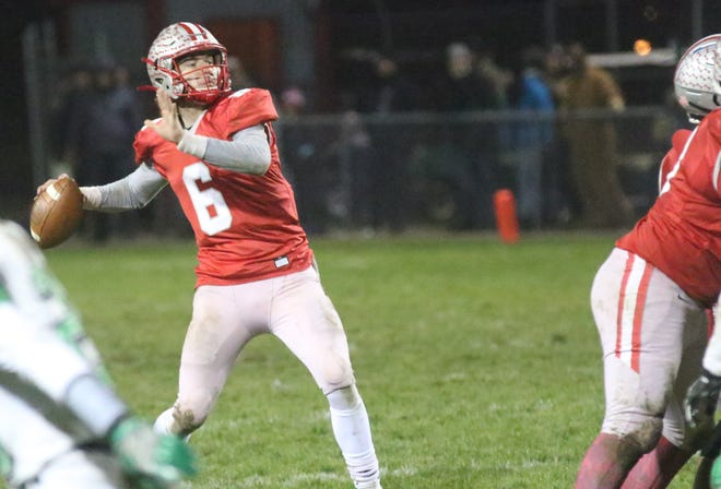 Shelby's McGwire Albert has the Whippets eyeing a regional championship with his play at quarterback.