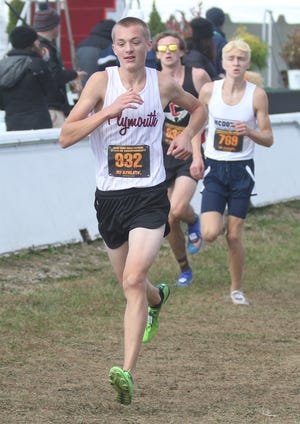 Plymouth's Levi Robinson ran a 16:26.10 at the Seneca East Invite to finish second overall.
