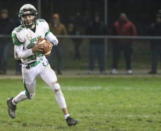 Clear Fork's Brennan South was named the 2019 Mansfield News Journal Offensive Player of the Year.