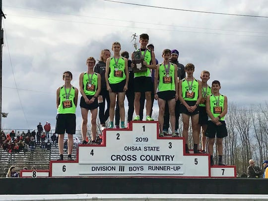 Mount Gilead's boys finished as Division III runners-up at the state cross country championships at National Trail Raceway in Kirkersville.