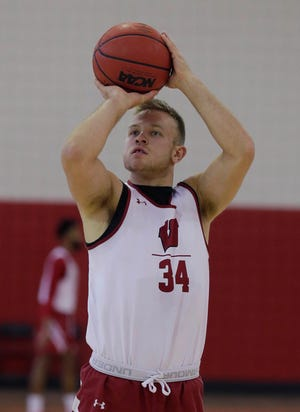 Brad Davison's shooting percentage dropped to 38.5% last season from 40.5% in his freshman year.