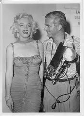 Bruno Bernard, Bernard of Hollywood, pictured here with Marilyn Monroe in an image taken by fellow celebrity photographer Paul Pospesil.