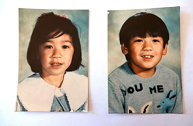 Photos of Jennifer Chia, 6, (left) and her brother Charles Chia, 8, both of Reno. The siblings were abducted while walking home from the school bus stop on Oct. 18, 1989. Their remains were discovered nine months later at a turnout near Blairsden, Calif.
