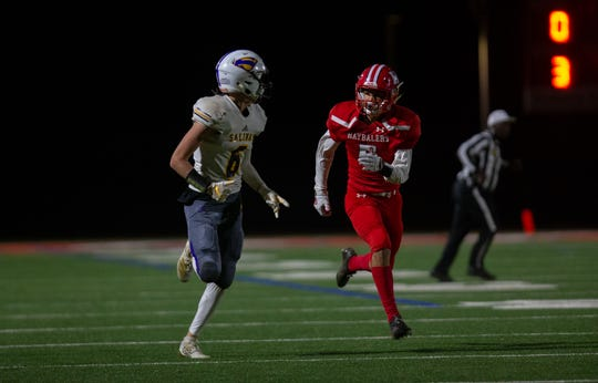 Wide receiver/safety Cade Smith (6) could be in for another big game Friday against Aptos.