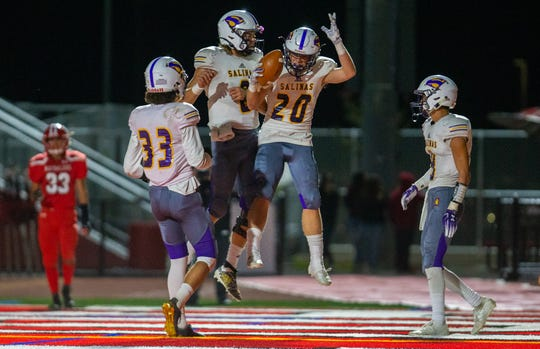 Salinas heads on the road this week with a chance to win their eighth game in a row.