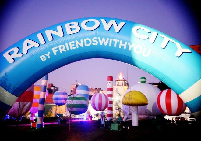 Rainbow City in Caddo Common Park Friday November 1,2019.