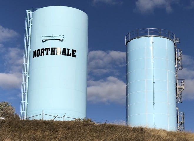 Among the roughly 650 water systems in South Dakota, smaller, rural systems tend to face more challenges in providing good water due to a lack of money and resources or the age of the system. The Northdale Sanitary District, shown here, is a system that serves about 1,100 people along the border of Meade and Pennington counties. The system was cited by the state for not having a certified system operator in 2015 and for failing to monitor for arsenic in 2018.