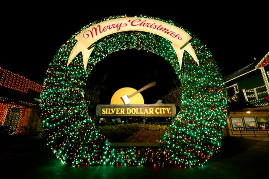 Silver Dollar City kicked off its annual An Old Time Christmas festival on Friday, Nov. 1, 2019 with a lighting of a new 80-foot Christmas tree adorned with LED lights and parade.