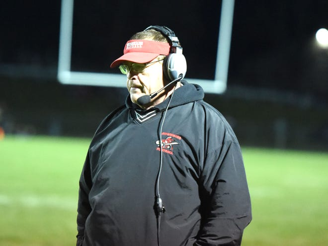 Riverheads' coach Robert Casto in a file photo from 2019.