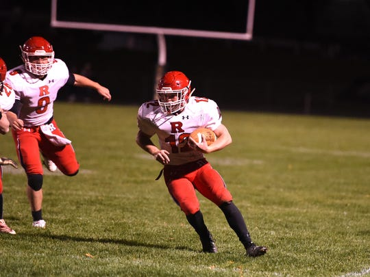 Cy Cox is one of many offensive weapons Riverheads will bring into Saturday's state semifinal game against Essex.