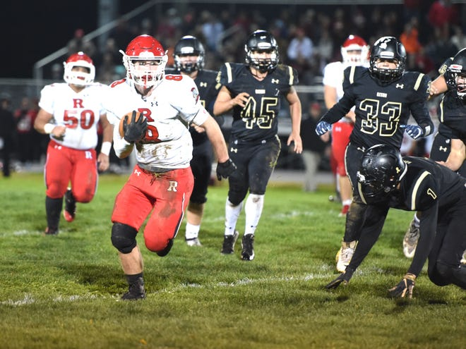Zac Smiley leads Riverheads with 2,068 yards rushing and 38 touchdowns on the ground.