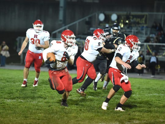 Zac Smiley has led the Riverheads' rushing attack this season as a junior.