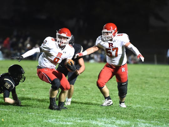 Zac Smiley leads Riverheads with 1,947 yards rushing this season.