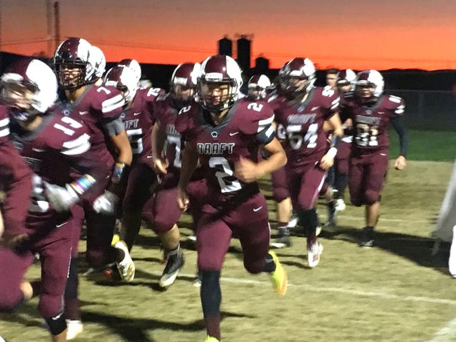 Stuarts Draft takes the field Friday night for its Shenandoah District football game with Staunton.