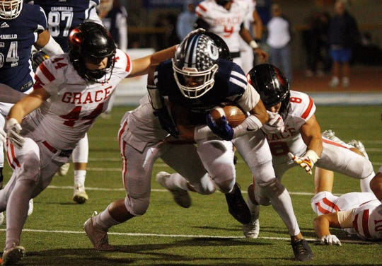 Jesse Valenzuela of Camarillo High was named the co-MVP of the Camino League.