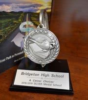 Bridgeton High School was recognized for its outstanding education program promoting college and career readiness with a Career Choices Silver Medal.