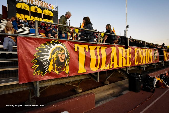 """Tulare Police Department responded to Tulare Union High School after receiving a message that a child had brought a gun to the campus. An investigation determined that the tip was """"unfounded"""" and the campus was safe, according to police and school administrators."""