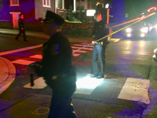 Wilmington Police investigating a shooting on Oak and South Broom Streets Friday night.