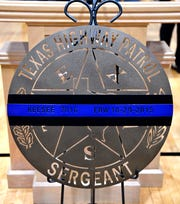 """An End of Watch memorial to DPS Sgt. William """"Karl"""" Keesee Tuesday."""
