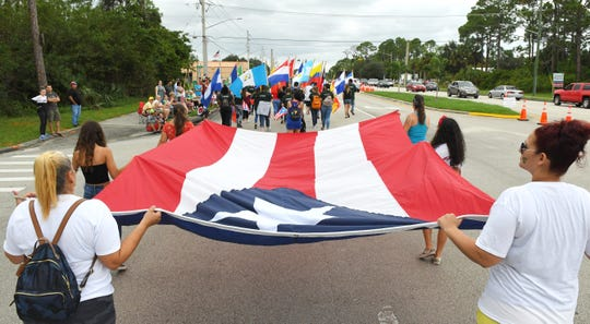 The 2019 Florida United Third Bridge 23rd Annual Puerto Rican Day Parade. The Sunday, November 3rd parade was followed with a free festival with music, dancing and food next to Palm Bay City Hall.