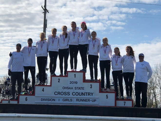 Lakota East girls cross country finished as the Division I state runner-up.