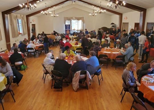 More than 170 people enjoyed themselves on Oct. 26 at the Rotary Club of the Plainfields' annual Pancake Breakfast.