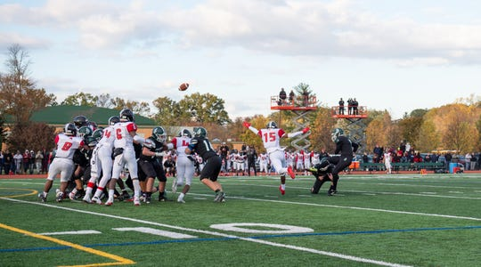 Chris Moyer's game-winning field goal against Rahway
